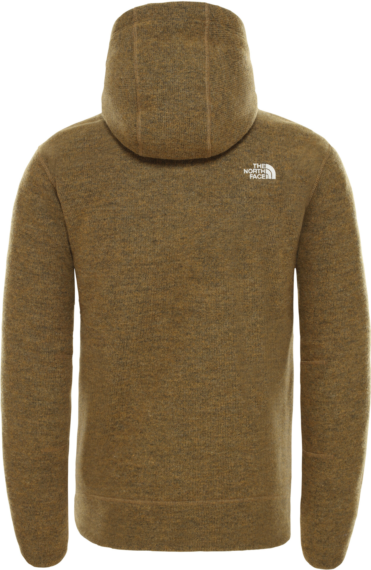 The North Face Zermatt Full Zip Hoodie Herren british khaki dark heather